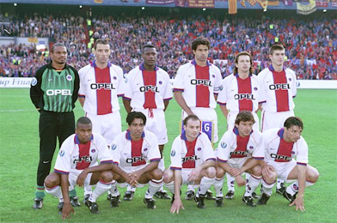 Once del PSG en la final de la Recopa de 1997 - Odio Eterno Al Fútbol Moderno