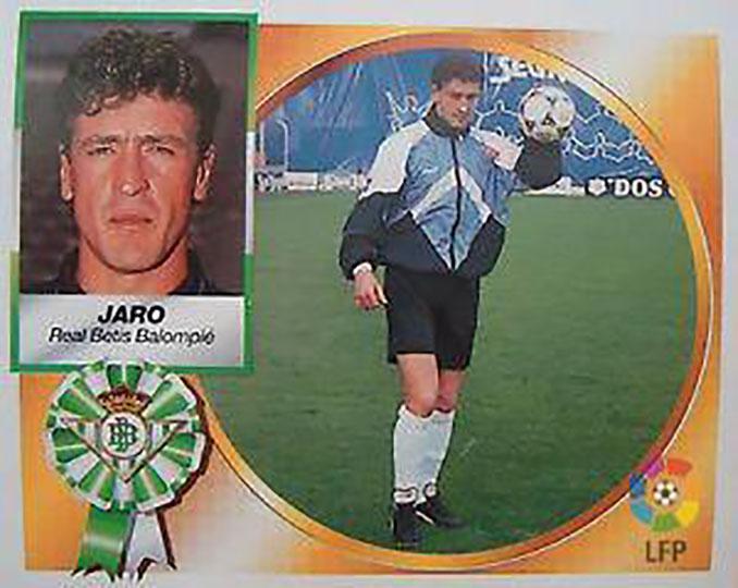Cromo de Pedro Jaro - Odio Eterno Al Fútbol Moderno
