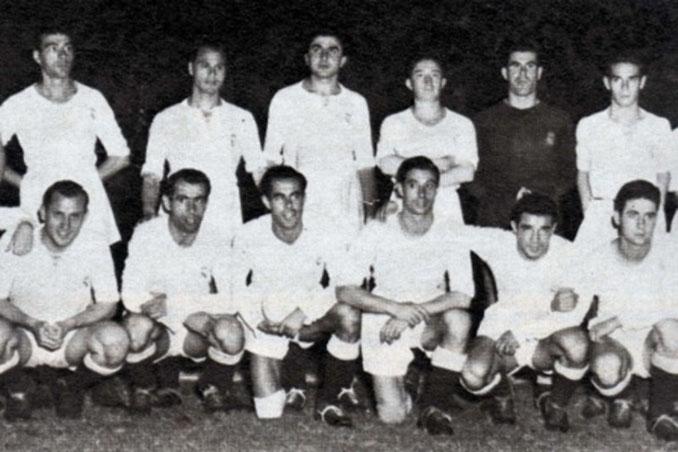 Real Madrid campeón de la Pequeña Copa del Mundo en 1952 - Odio Eterno Al Fútbol Moderno