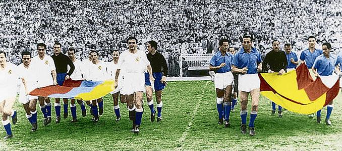Real Madrid vs Millonarios disputado en 1952 - Odio Eterno Al Fútbol Moderno