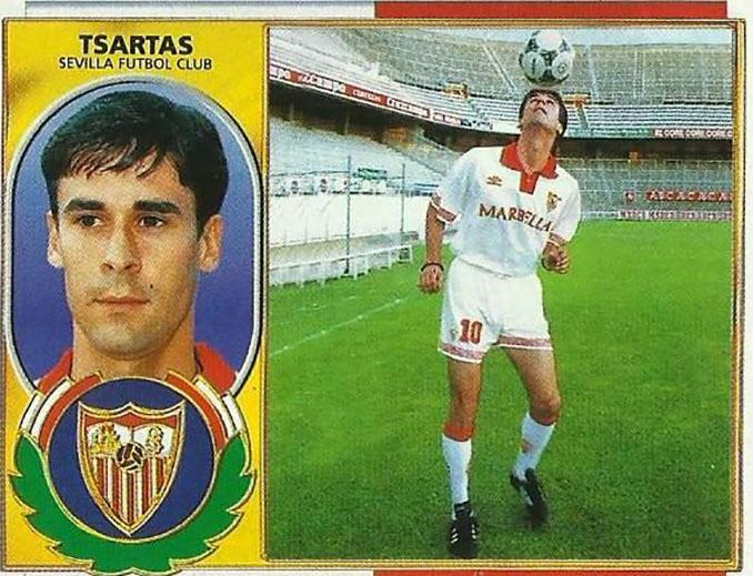Cromo de Vassilis Tsartas - Odio Eterno Al Fútbol Moderno