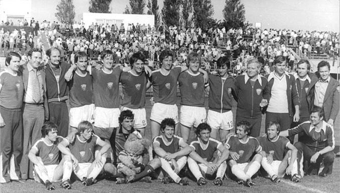 Dinamo de Berlín durante su decenio más glorioso - Odio Eterno Al Fútbol Moderno