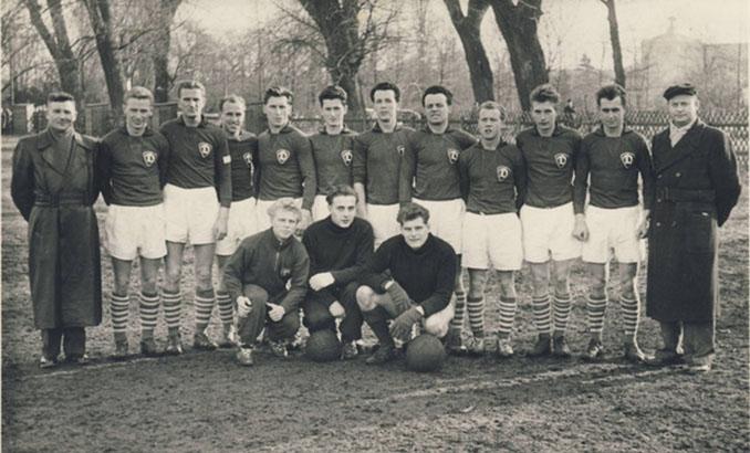 Dinamo Dresde en la década de 1950 - Odio Eterno Al Fútbol Moderno