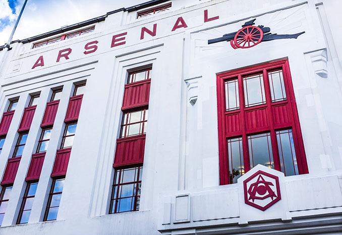 Fachada de Highbury - Odio Eterno Al Fútbol Moderno