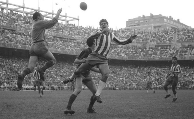 Granada vs Barcelona en la final de Copa de 1959 - Odio Eterno Al Fútbol Moderno