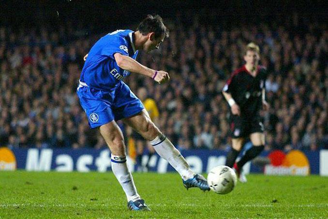 El gol de Lampard al Bayern de Múnich es uno de los mejores de su carrera - Odio Eterno Al Fútbol Moderno