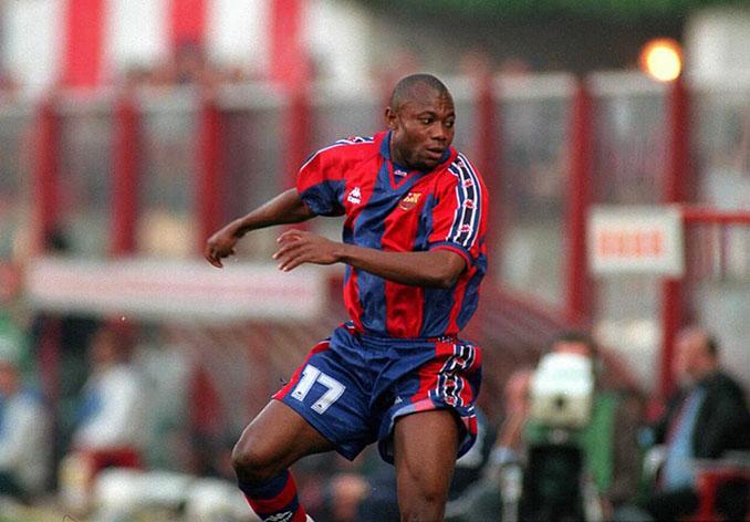Amunike solo consiguió un gol en sus cuatro años en el FC Barcelona - Odio Eterno Al Fútbol Moderno
