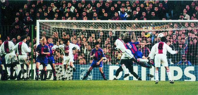 Barcelona vs PSG disputado en 1995 - Odio Eterno Al Fútbol Moderno