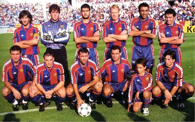 FC Barcelona en la temporada 1994-1995 - Odio Eterno Al Fútbol Moderno