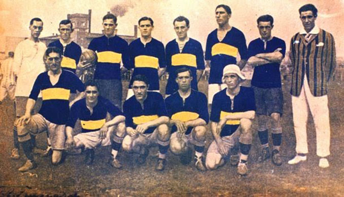Boca Juniors en 1920 - Odio Eterno Al Fútbol Moderno