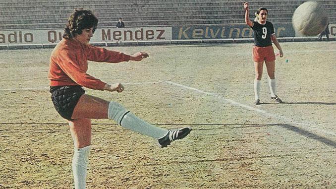 Conchi Sánchez primera futbolista profesional española - Odio Eterno Al Fútbol Moderno