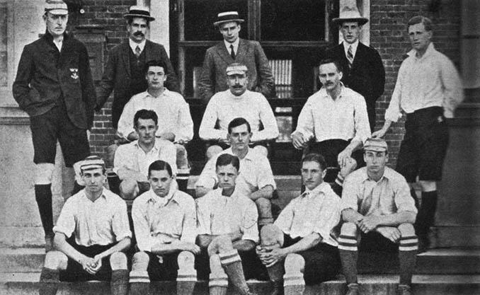Jugadores del Corinthian Football Club en 1906 - Odio Eterno Al Fútbol Moderno