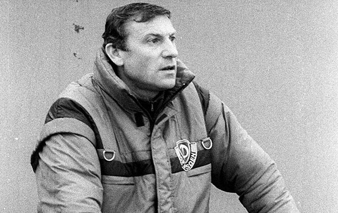 Eduard Geyer fue entrenador del Dinamo de Dresde y de la selección de la RDA - Odio Eterno Al Fútbol Moderno