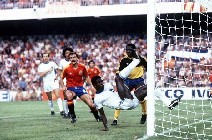 España debutó ante Honduras en el Mundial de 1982 - Odio Eterno Al Fútbol Moderno