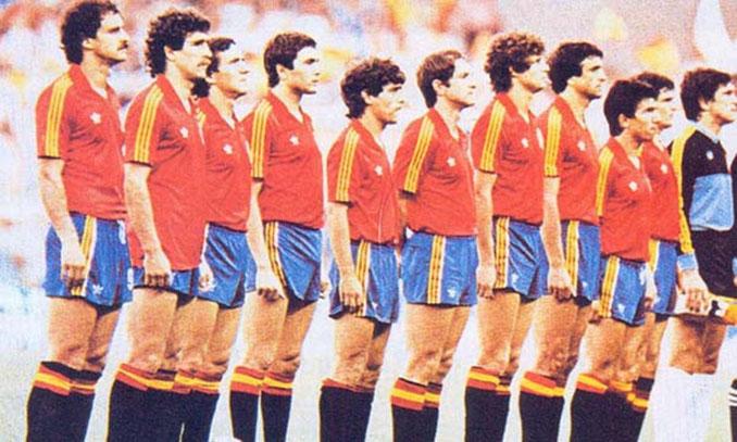 Selección española durante el Mundial de 1982 - Odio Eterno Al Fútbol Moderno