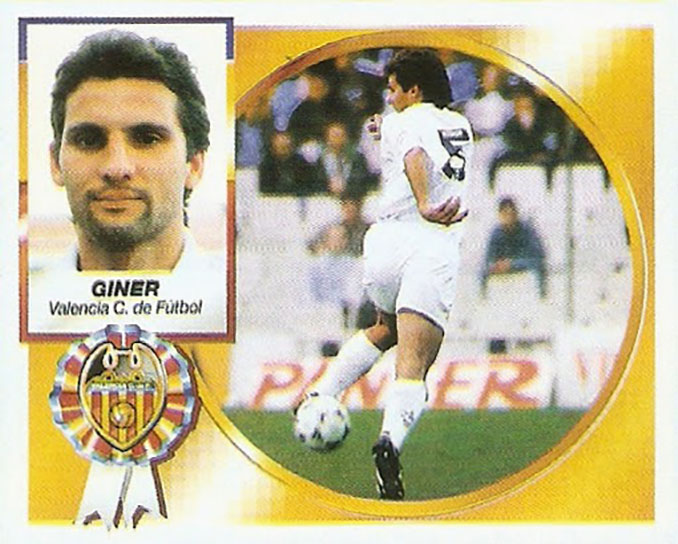Cromo de Fernando Giner - Odio Eterno Al Fútbol Moderno