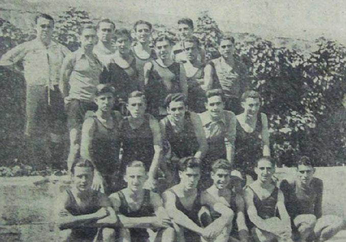 Fernando Vigueras (arriba a la derecha) durante su etapa en el Real Murcia - Odio Eterno Al Fútbol Moderno