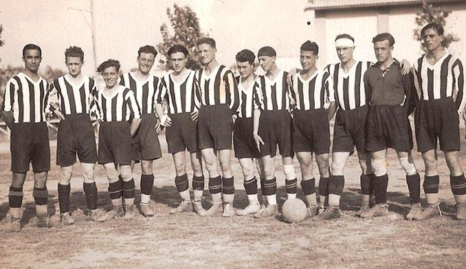 Plantilla de la Fiorentina en 1926 - Odio Eterno Al Fútbol Moderno