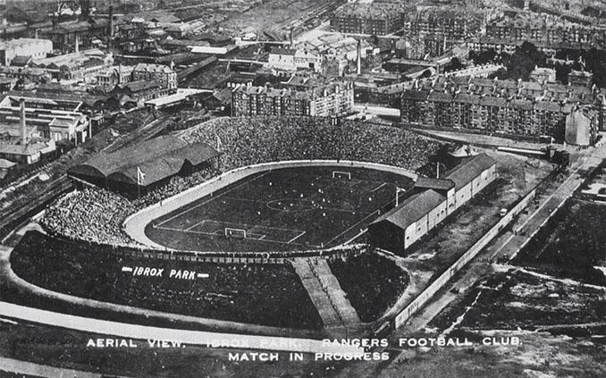 Ibrox Park en 1910 - Odio Eterno Al Fútbol Moderno