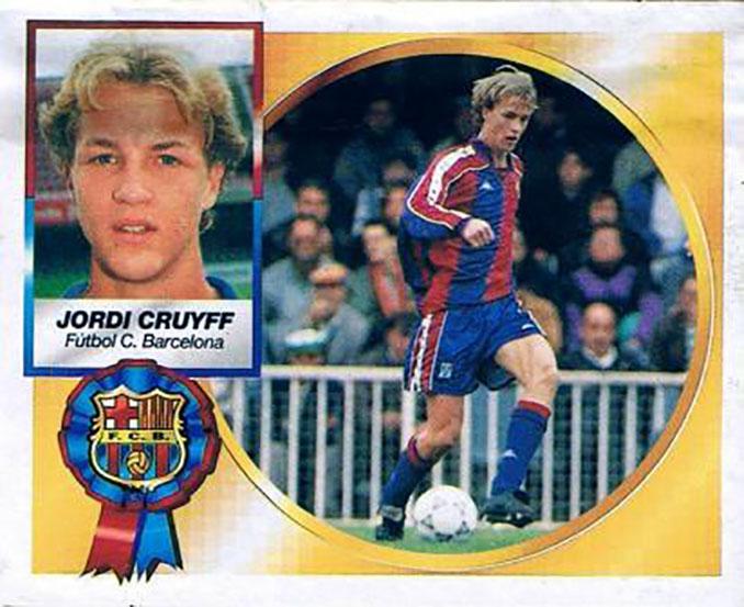 Cromo de Jordi Cruyff - Odio Eterno Al Fútbol Moderno