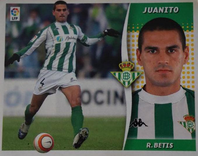 Cromo de Juanito Gutiérrez - Odio Eterno Al Fútbol Moderno