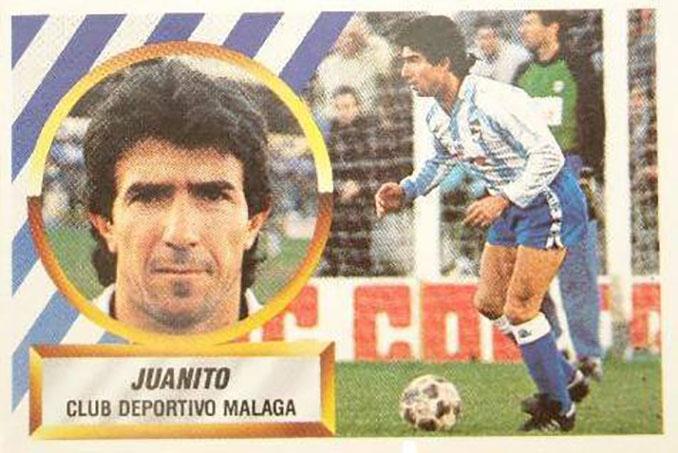 "Cromo de Juan Gómez ""Juanito"" - Odio Eterno Al Fútbol Moderno"