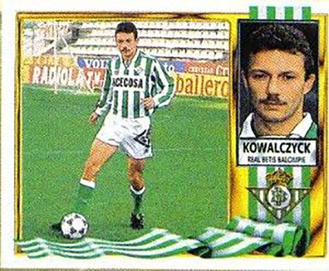 Cromo de Kowalczyk - Odio Eterno Al Fútbol Moderno