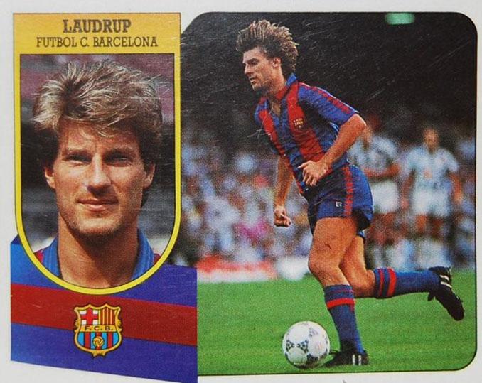 Cromo de Michael Laudrup - Odio Eterno Al Fútbol Moderno
