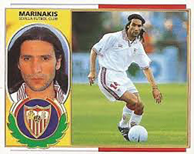 Cromo de Petros Marinakis - Odio Eterno Al Fútbol Moderno