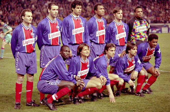 PSG en la temporada 1994-1995 - Odio Eterno Al Fútbol Moderno