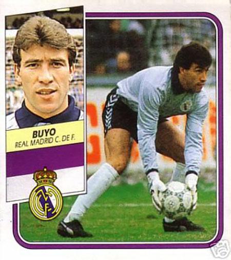 Cromo de Paco Buyo - Odio Eterno Al Fútbol Moderno