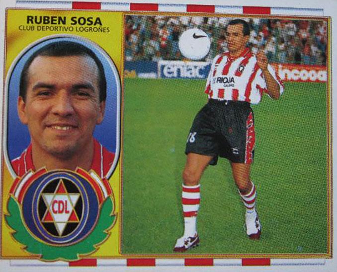 Cromo de Rubén Sosa - Odio Eterno Al Fútbol Moderno