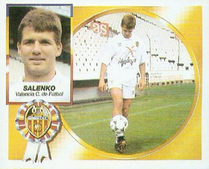 Cromo de Oleg Salenko - Odio Eterno Al Fútbol Moderno