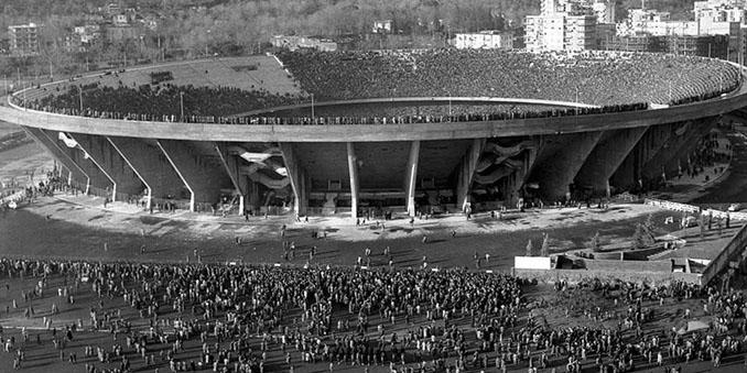Stadio San Paolo en 1974 - Odio Eterno Al Fútbol Moderno