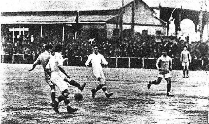 Derbi sevillano disputado en 1918 - Odio Eterno Al Fútbol Moderno