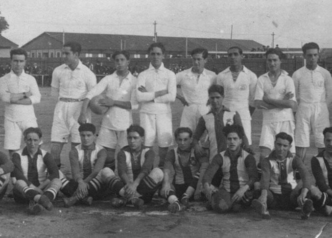 Plantilla del Sevilla FC en 1918 - Odio Eterno Al Fútbol Moderno
