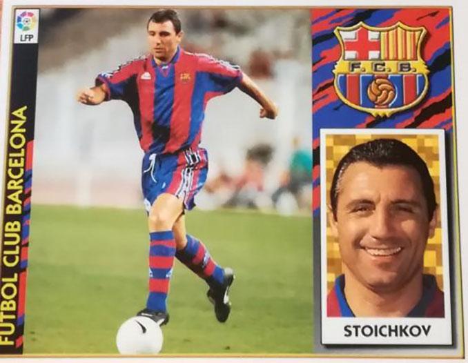 Cromo de Hristo Stoichkov - Odio Eterno Al Fútbol Moderno