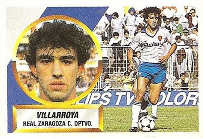 Cromo de Villarroya - Odio Eterno Al Fútbol Moderno