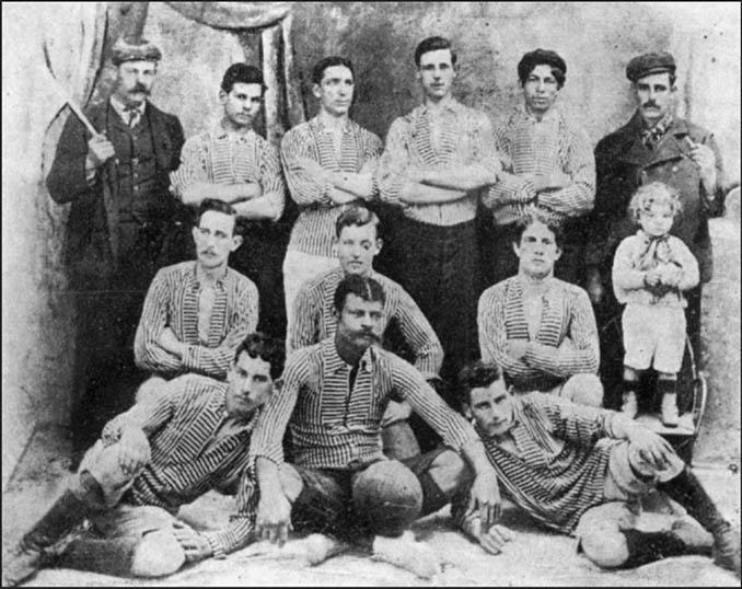 Jugadores de Boca Juniors en 1905 - Odio Eterno Al Fútbol Moderno