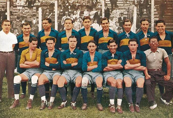 La camiseta de Boca Juniors es azul y amarilla desde 1907 - Odio Eterno Al Fútbol Moderno