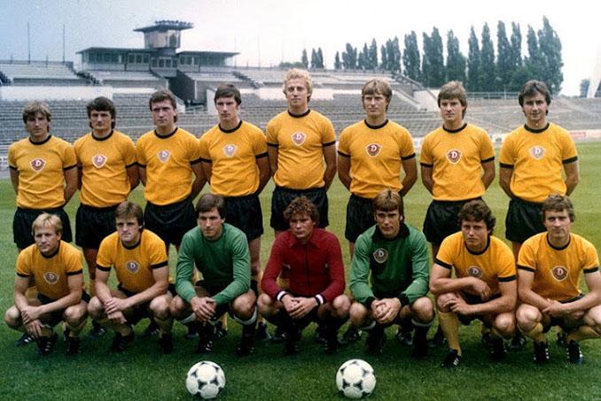 Plantilla del Dinamo Dresde en 1981 - Odio Eterno Al Fútbol Moderno