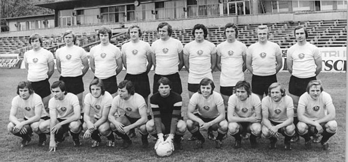 Dinamo Dresde en 1971 - Odio Eterno Al Fútbol Moderno