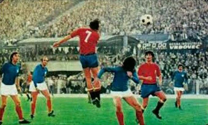 Yugoslavia vs España disputado en 1974 - Odio Eterno Al Fútbol Moderno