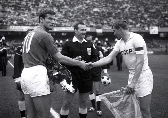 Italia vs URSS de la Eurocopa 1968 disputado en San Paolo - Odio Eterno Al Fútbol Moderno