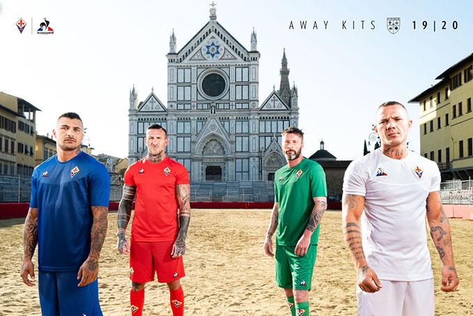 Camisetas en homenaje a los cuatro barrios de Florencia - Odio Eterno Al Fútbol Moderno