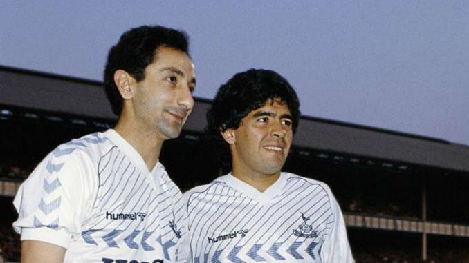 Ardiles y Maradona jugaron juntos un partido en el Tottenham Hotspur - Odio Eterno Al Fútbol Moderno