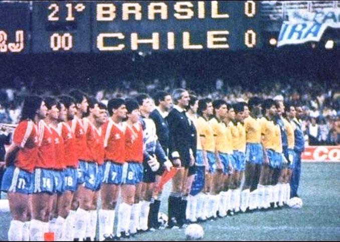 Brasil vs Chile disputado el 3 de septiembre de 1989 en Maracaná - Odio Eterno Al Fútbol Moderno