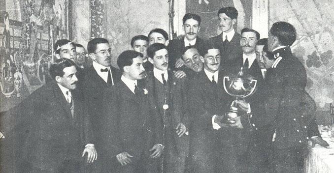 Club Ciclista FC campeón de la Copa del Rey en 1909 - Odio Eterno Al Fútbol Moderno