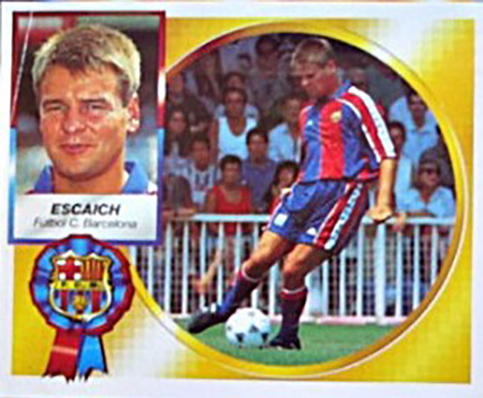 Cromo de Xavier Escaich - Odio Eterno Al Fútbol Moderno