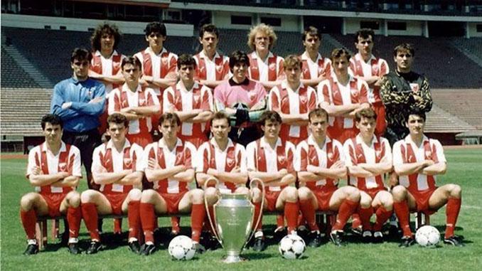 Estrella Roja campeón de Europa en la temporada 1990-1991 - Odio Eterno Al Fútbol Moderno